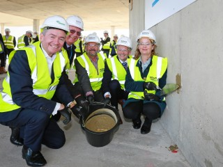Topping out heralds £27 million housing scheme in Bournemouth town centre